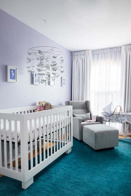 Dutailier Nursery Transitional with Armchair Babys Room Bassinet