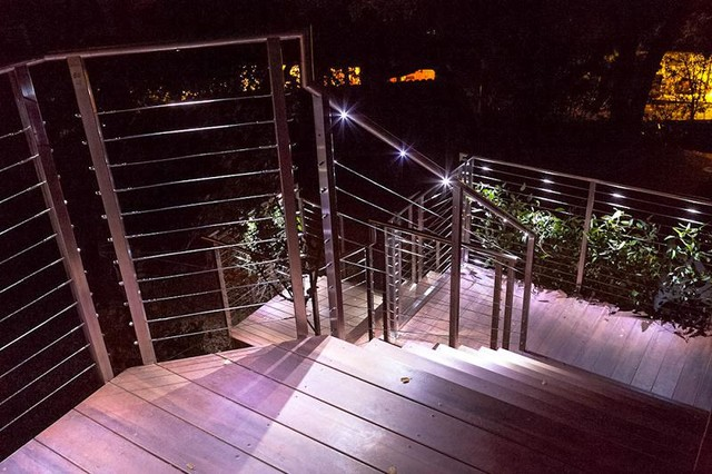 Embody Chair Deck Contemporary with Cable Deck Cable Deck