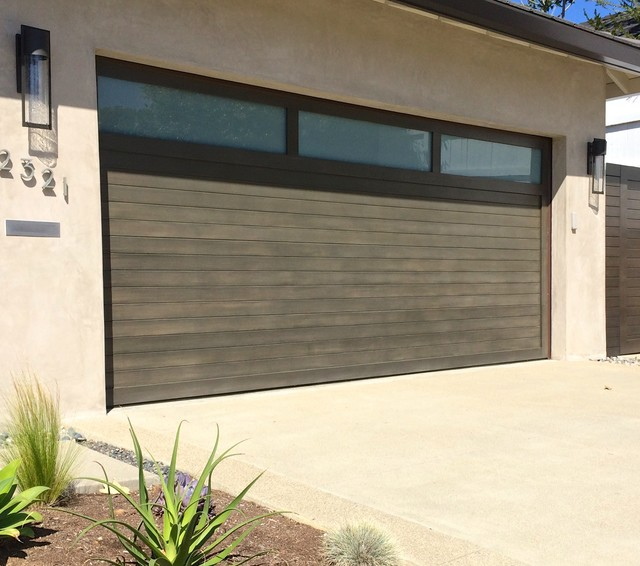 Epoxy Garage Floor Cost Garage And Shed Contemporary With