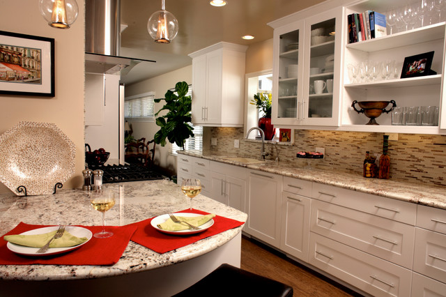 Epoxy Resin Countertops Kitchen Transitional with Arcadia Beverly Hils Burbank