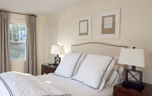 Euro Pillow Shams Bedroom Contemporary with Bedside Table Curtains Drapes