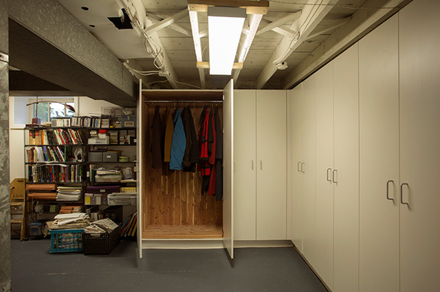Everdry Waterproofing Basement Traditional with Basement Remodeling Storage 6