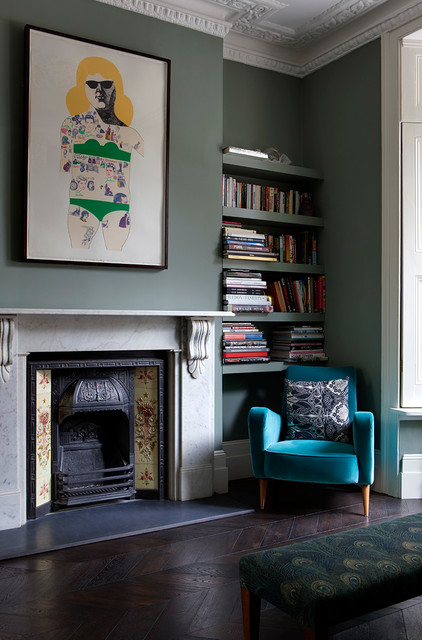 Fireplace Grate Living Room Victorian with Contemporary Artwork Corbels Fireplace