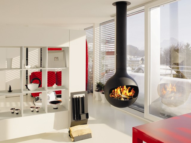 Firewood Carrier Living Room Contemporary with Balcony Built in Shelves Centre