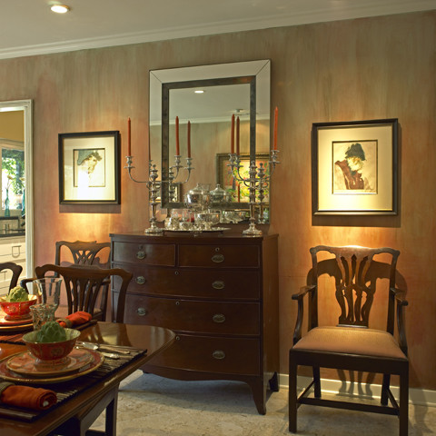 Flatware Chest Dining Room Traditional with Arm Chair Cabinet Candle