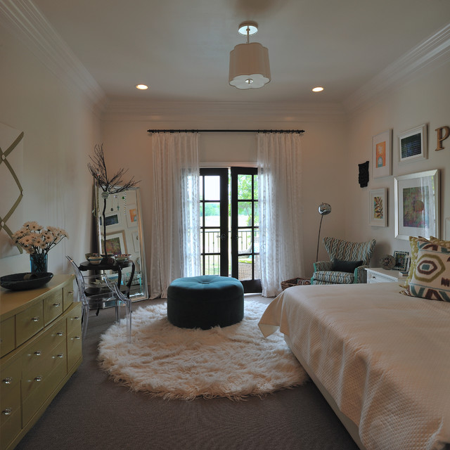 fluffy rugs Kids Modern with accent chair Bedroom ceiling