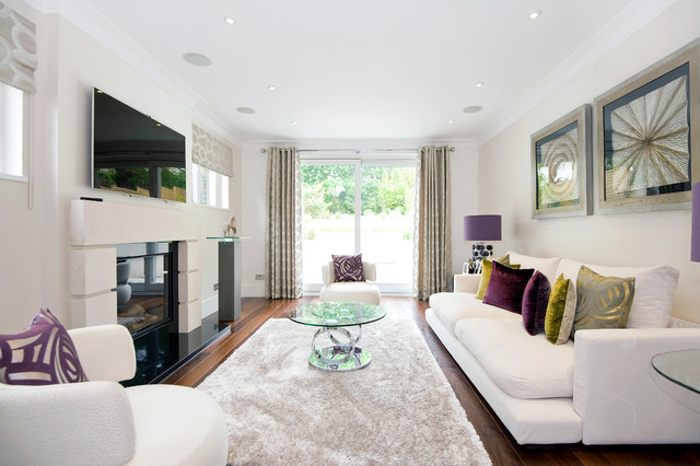 Fluffy Rugs Living Room Contemporary with Beige Shag Area Rug