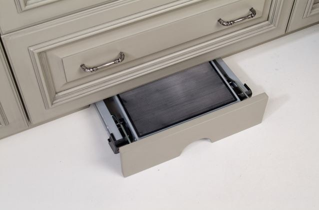 Foldable Step Stool Kitchen Traditional with Akbd Alder Baking Center