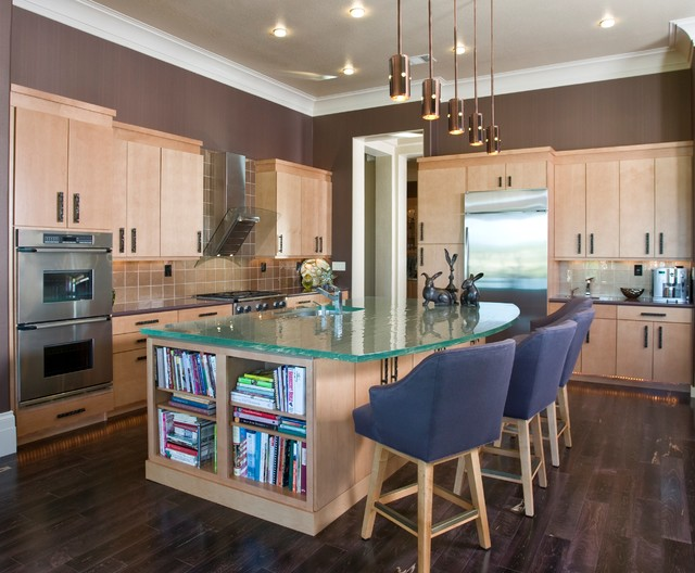 Framburg Lighting Kitchen Contemporary with Ceiling Lighting Crown Molding