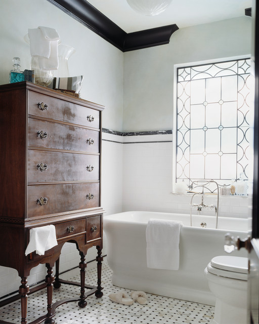 Furniture Stores in Charleston Sc Bathroom Victorian with Accent Window Black And