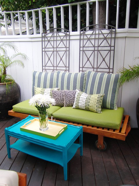 Furniture Stores in Des Moines Deck Eclectic with Container Plants Deck Decorative