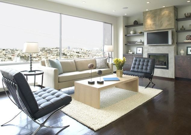 Furniture Stores in Gainesville Fl Living Room Contemporary with Barcelona Chair Barcelona Chair