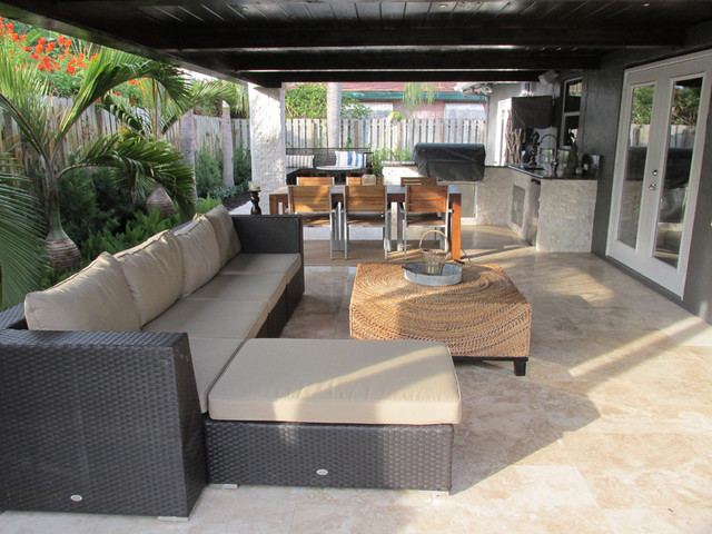 Furniture Stores in Gainesville Fl Patio Contemporary with Ceiling Beams Coffee Table
