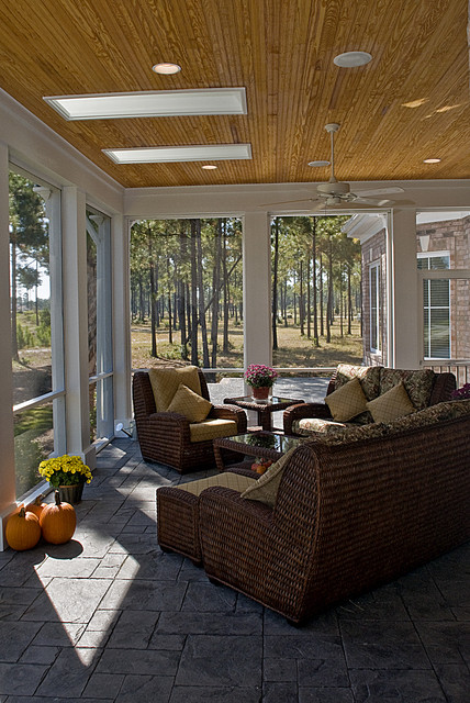 furniture stores in greensboro nc Porch Traditional with ceiling fan ceiling lighting
