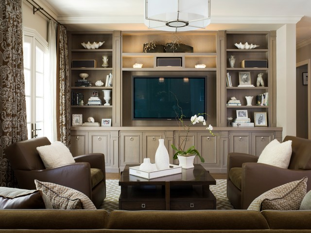 Furniture Stores in Murfreesboro Tn Family Room Traditional with Beige Wall Brown Leather