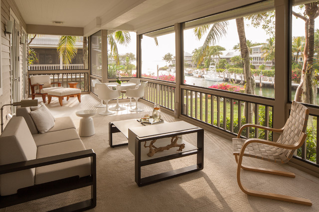 Furniture Stores Pensacola Fl Porch Tropical with Covered Porch Monochromatic Neutral