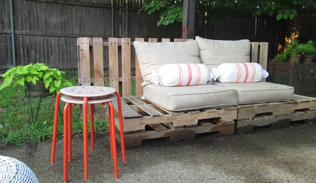 Furniture Stores Tulsa Patio Eclectic with Backyard Orange Stools Outdoor