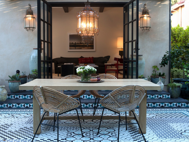 Furniture Stores Tulsa Patio Mediterranean with French Doors Moroccan Theme
