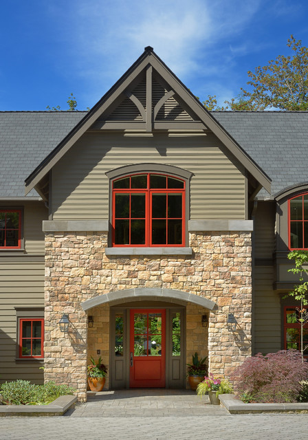 Fypon Exterior Transitional with Arch Arch Entryway Arched