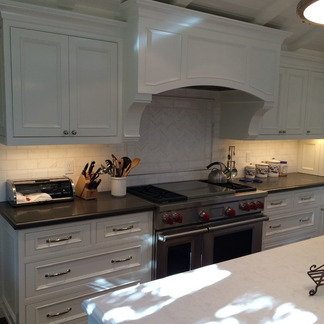 Ge Profile Convection Microwave Kitchen Contemporary with Contemporarty Kitchen Kitchen Hood