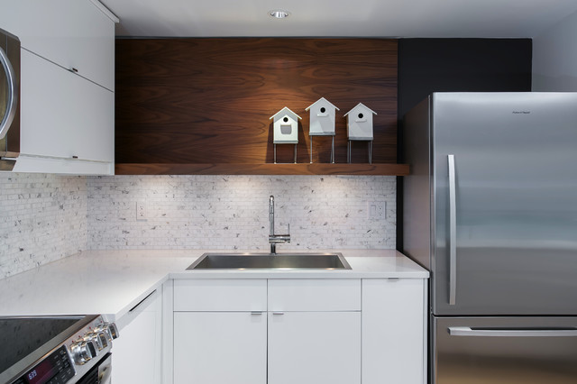 Grohe Faucet Kitchen Modern with Birdhouses Blanco Stainless Steel