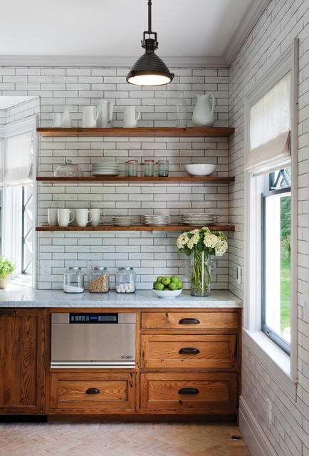 Grout Stain Kitchen Rustic with Dishware Glass Jars Granite