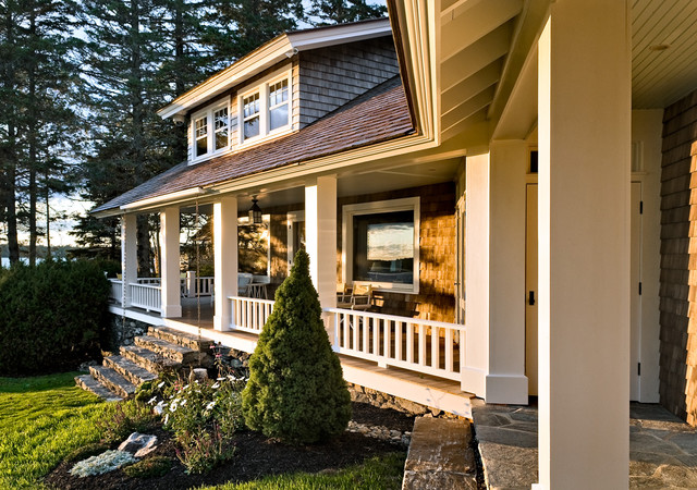 Gutter Guards Lowes Porch Beach with Coastal Cottage Home Maine