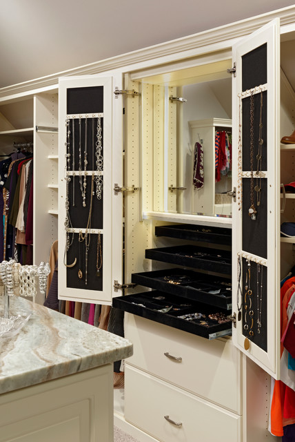 Hanging Jewelry Armoire Closet Traditional with Accessories Built in Mirror