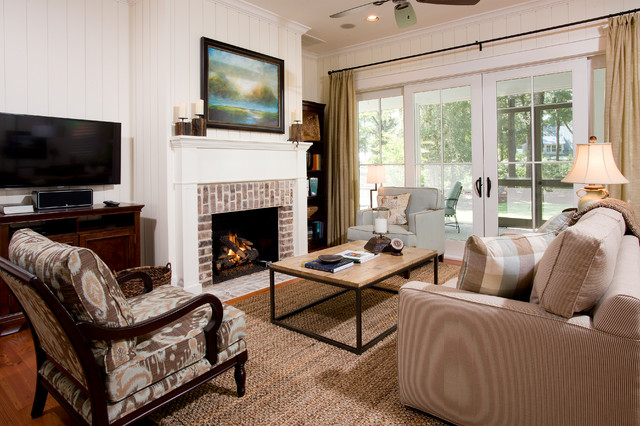 Hargrove Gas Logs Living Room Traditional with Area Rug Artwork Brick