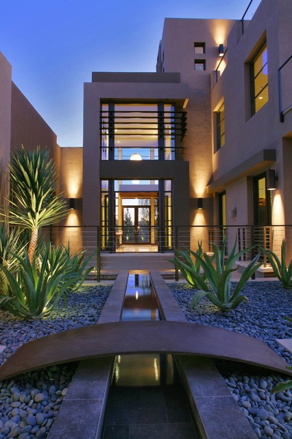Harmony Homes Las Vegas Exterior Contemporary with Beige Walls Clean Lines