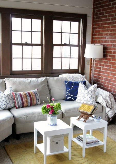 Havertys Sectionals Living Room Shabby Chic with Accent Tables Area Rug
