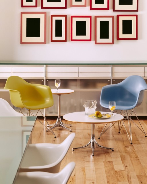 Herman Miller Eames Home Office Modern with Armchair Charles and Ray1