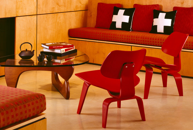 Herman Miller Eames Living Room Modern with Charles and Ray Eames