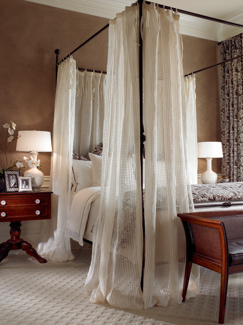 home depot carpeting Bedroom Traditional with bedding carpet drape four-poster