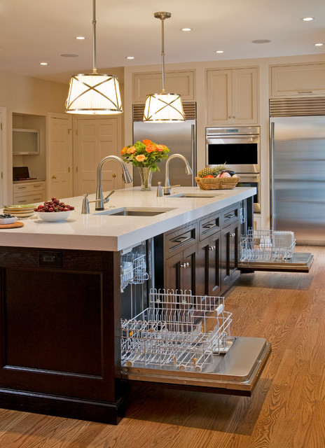 home depot dishwashers Kitchen Traditional with appliances beige cabinets beige