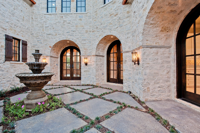 Homes for Sale in Granbury Tx Exterior Rustic with Arch Arch Doors Concrete