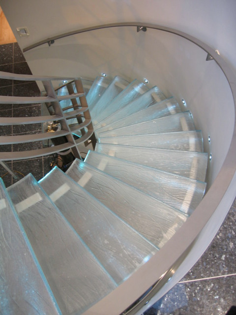 How to Build a Spiral Staircase Staircase Contemporary with Categorystaircasestylecontemporarylocationmontreal