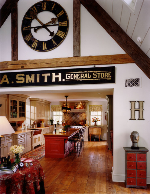 Howard Miller Clocks Kitchen Eclectic with Bar Seating Big Clock