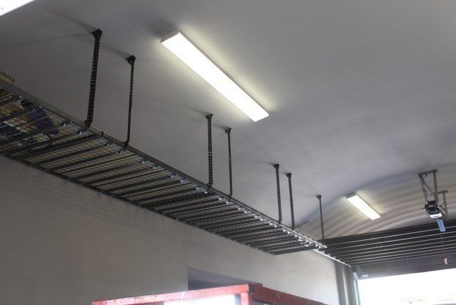Hyloft Garage and Shed with Hyloft Overhead Ceiling Units
