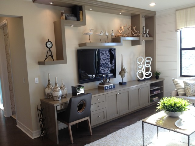 Hyloft Home Office Contemporary with Based on the East