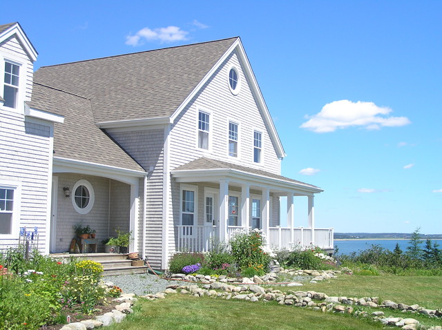 Iko Roofing Exterior Beach with Coastal Cottage Entrance Entry