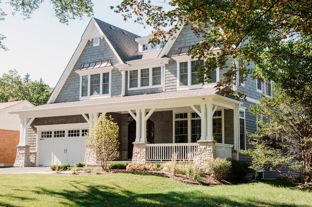 Iko Roofing Exterior Victorian with Brackets Front Porch Front