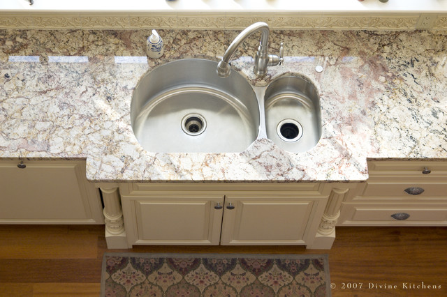 Insinkerator Garbage Disposal Kitchen Traditional with Built in Sink Double