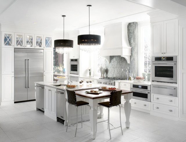 Jenn Air Refrigerator Spaces Eclectic with Eclectic Kitchen Jenn Air1