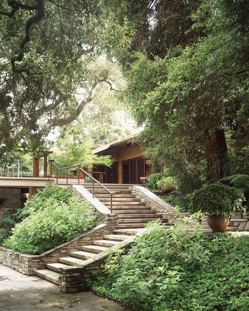 Jj Exterminating Exterior Contemporary with Coast Redwood Entrance Entry3