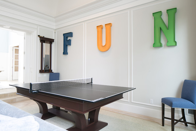 Joola Ping Pong Table Family Room Traditional with Game Room Heavy Ping