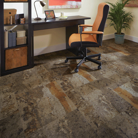Karndean Loose Lay Spaces with Brown Tones Commercial Distinctive