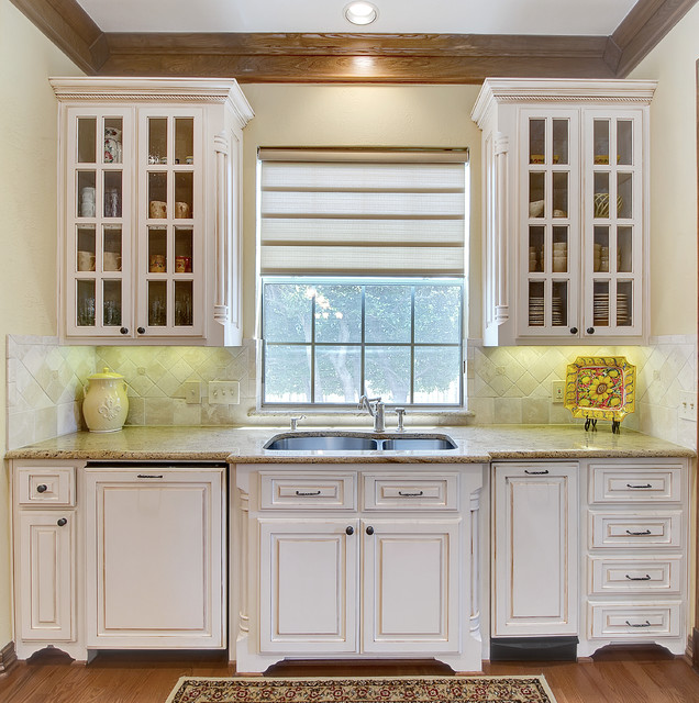 Kitchenaid Trash Compactor Kitchen Traditional with Crown Molding Stone Countertop