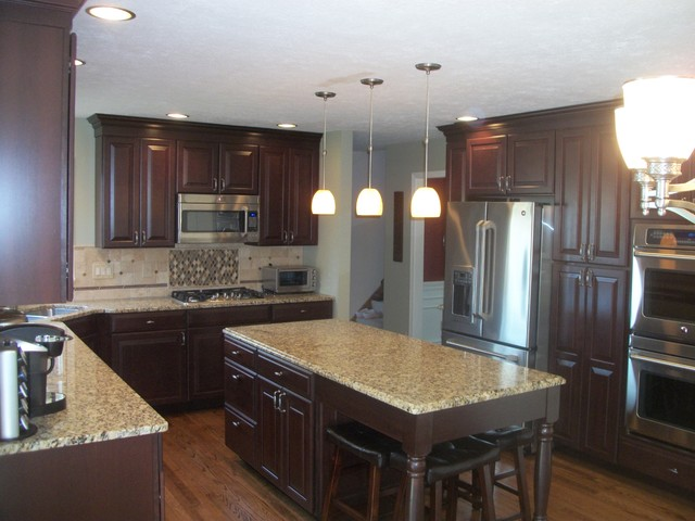 Kohler Sterling Kitchen Traditional with Artisan Faucet Cabinet Countertop