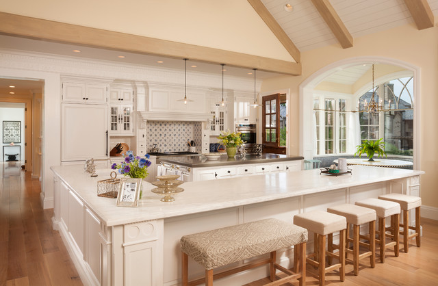 L Shaped Desk with Hutch Kitchen Traditional with Arch Bar Corbels Dentil